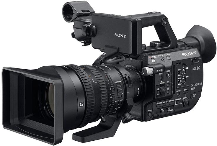 Sony PXW-FS5 — первая видеокамера Super 35, оснащенная встроенным переменным фильтром нейтральной плотности