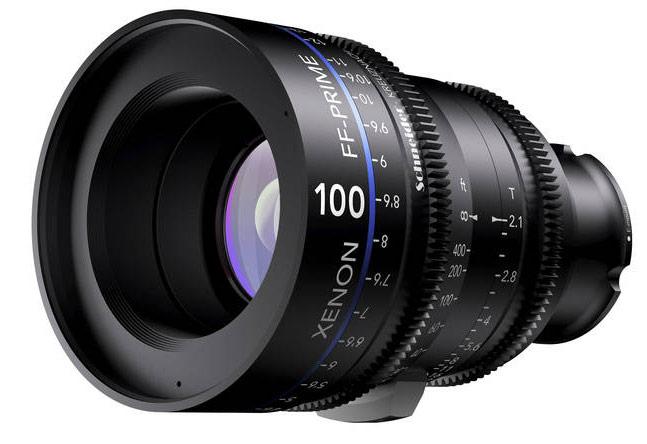 Серия объективов Schneider-Kreuznach FF-Prime включает модели T2.1/25mm, T2.1/35mm, T2.1/50mm, T2.1/75mm и T2.1/100mm