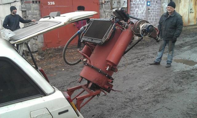 Производство водорода с помощью машины на дровах - 1