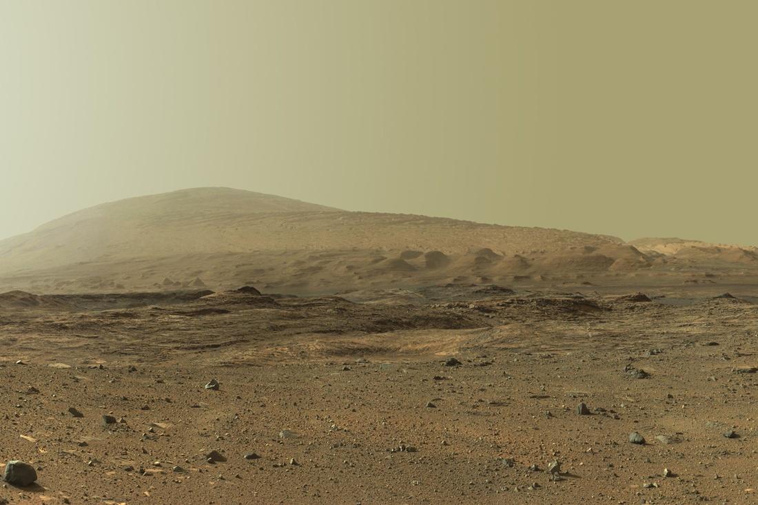 Широкая панорама горы Шарпа - 2
