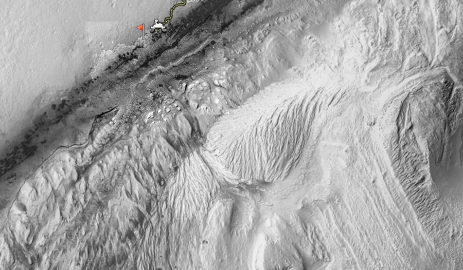 Широкая панорама горы Шарпа - 5