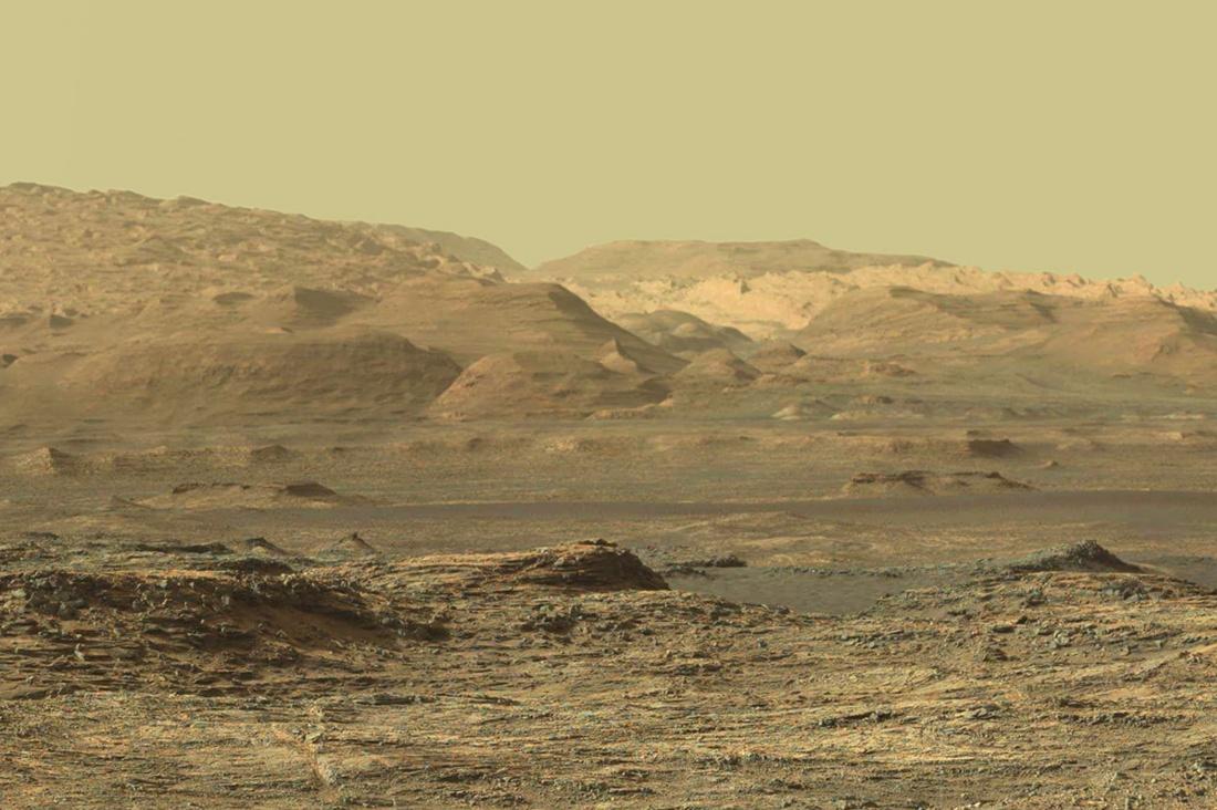 Широкая панорама горы Шарпа - 1