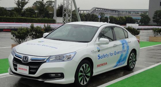 Honda разрешили тестировать ее новые автономные автомобили на дорогах общего пользования