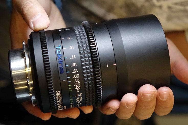 Два из трех новых объективов Tokina для видеосъемки появятся в продаже уже этой осенью
