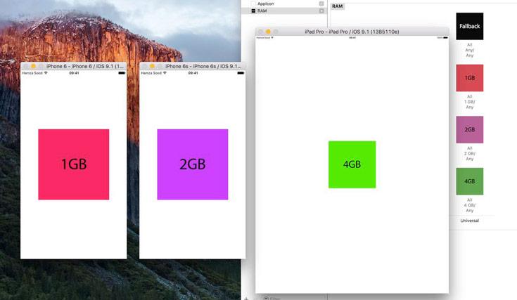 Источником информации об объеме оперативной памяти новых мобильных устройств Apple среда для разработки программ Xcode