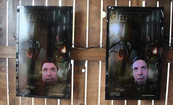фотографии отрубленных голов The Sleepy Hollow
