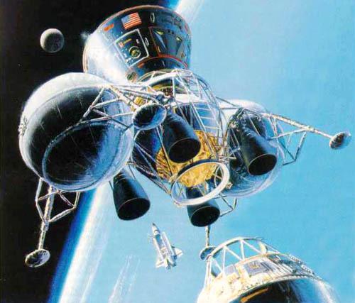 Проекты лунных баз: вчера и сегодня - 10