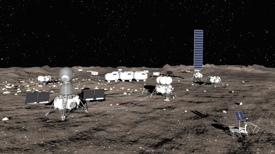 Проекты лунных баз: вчера и сегодня - 15