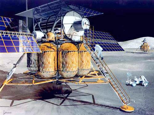 Проекты лунных баз: вчера и сегодня - 3