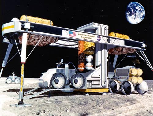 Проекты лунных баз: вчера и сегодня - 7