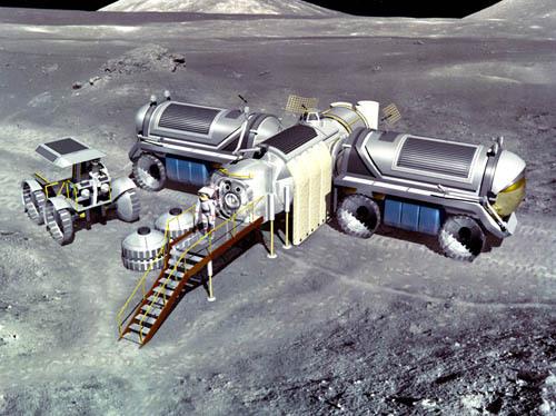 Проекты лунных баз: вчера и сегодня - 8