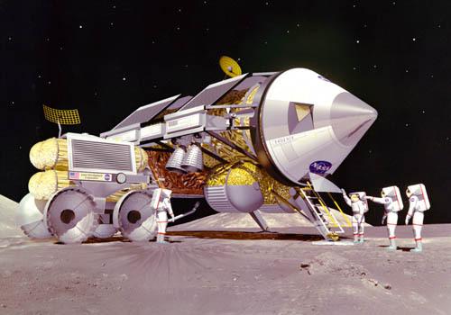 Проекты лунных баз: вчера и сегодня - 9