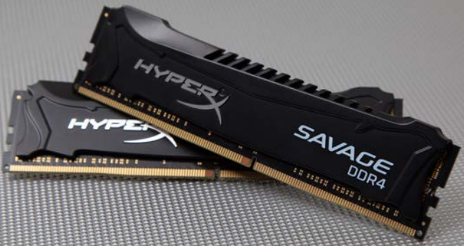Комплекты HyperX Savage DDR4 имеют объемы от 4 до 64 ГБ