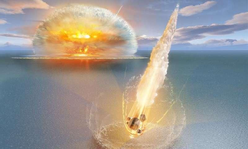 В Швеции обнаружен уникальный двойной метеоритный кратер - 1