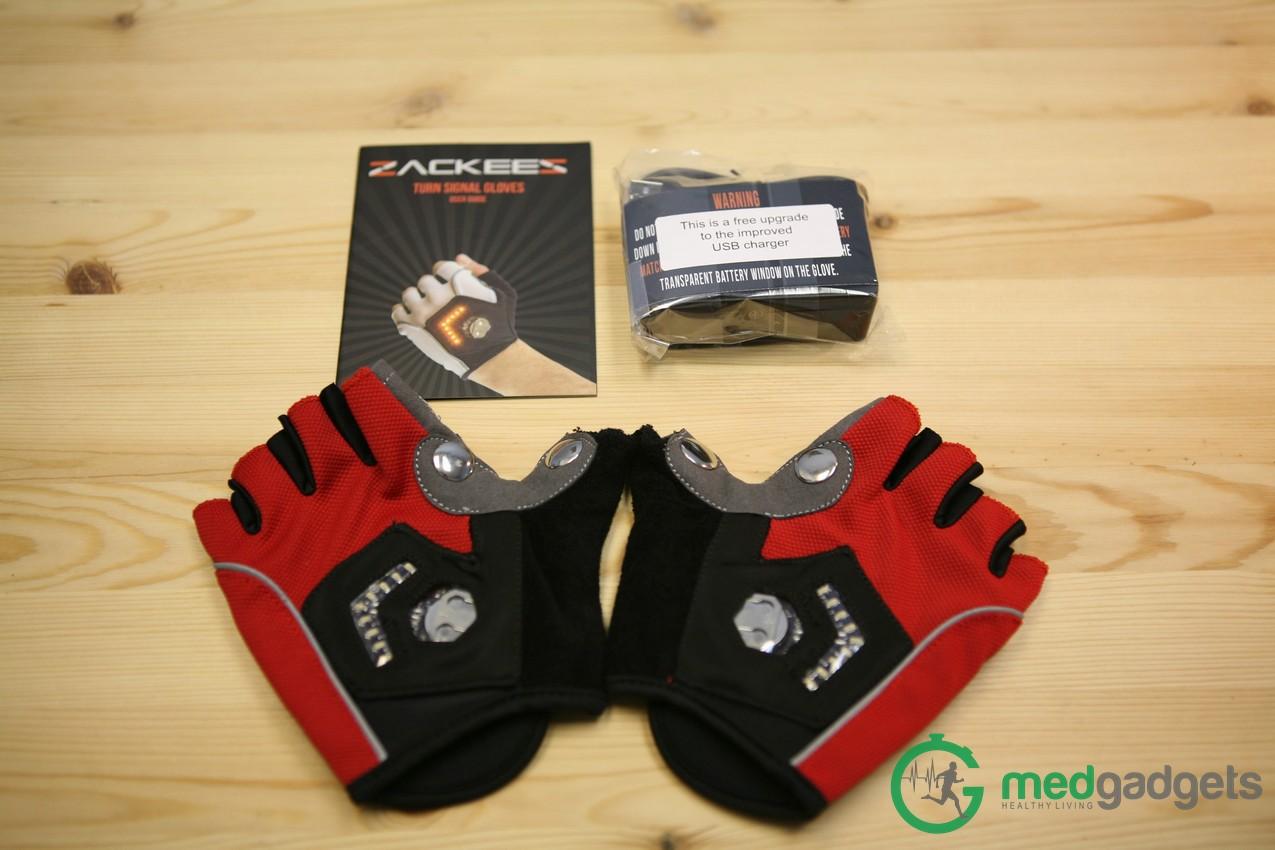 Велосипедные перчатки Zackees повышают безопасность велосипедиста на дороге - 2