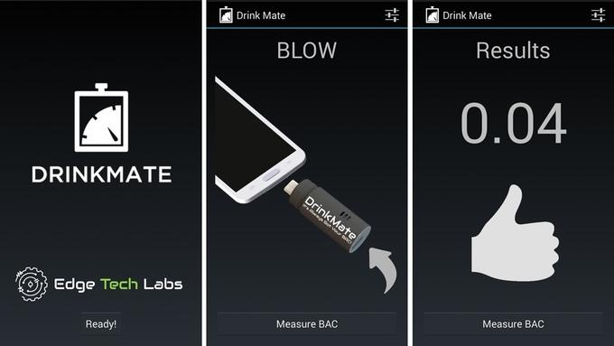 DrinkMate: миниатюрный алкотестер, позволяющий принимать правильные решения - 4