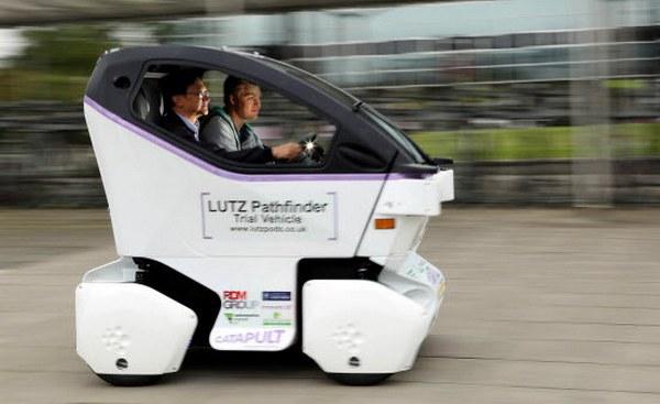 Lutz Pathfinder сможет перевозить двух пассажиров с багажом с максимальной скоростью до 24 км/ч на расстояние около 60 км без подзарядки