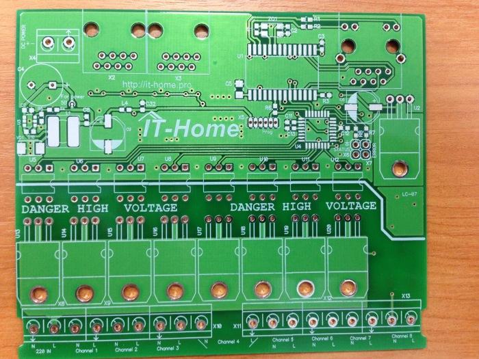 Контроллер для управления освещением LC-07 - 5