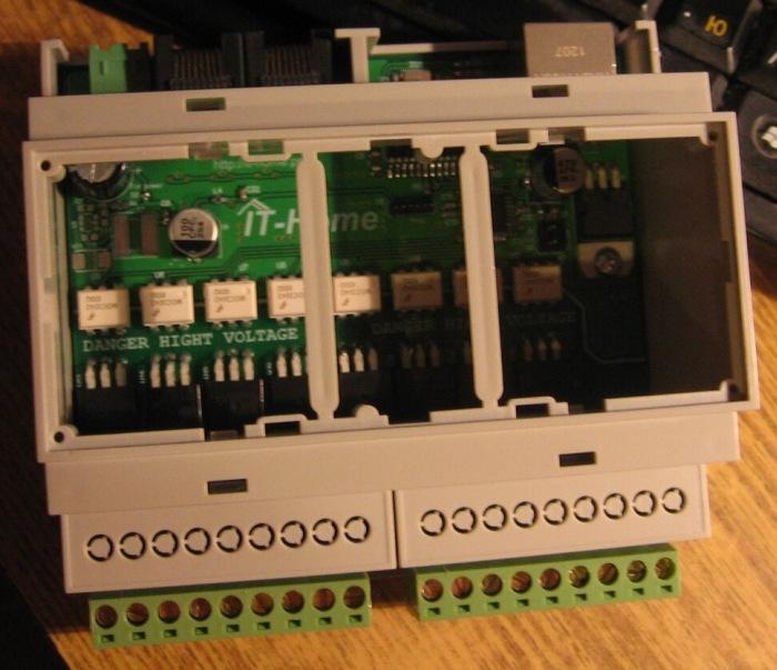 Контроллер для управления освещением LC-07 - 8