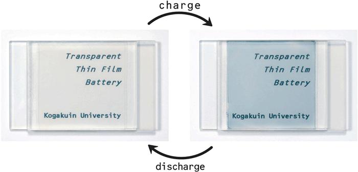 Полупрозрачный Li-Ion аккумулятор заряжается от света - 2