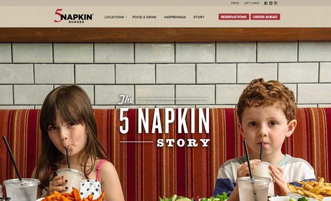 Как рестораны создают сайты: 4 дизайн-решения - 2