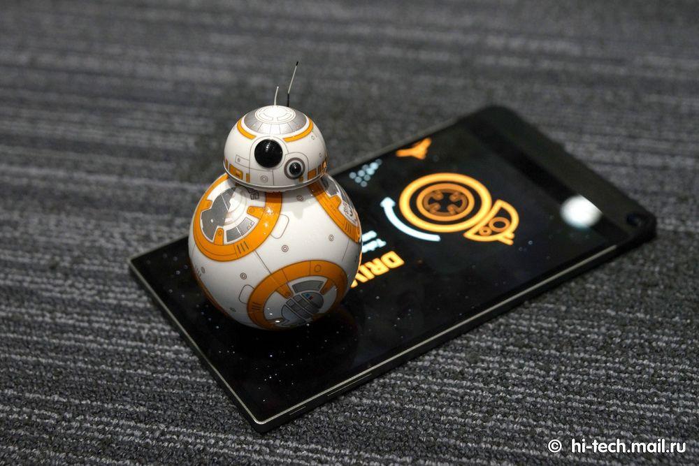 Обзор Sphero BB-8, робота из «Звёздных войн» - 10