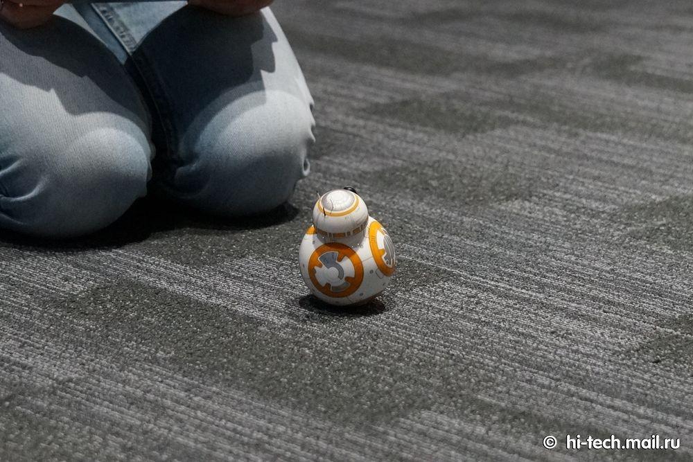 Обзор Sphero BB-8, робота из «Звёздных войн» - 20