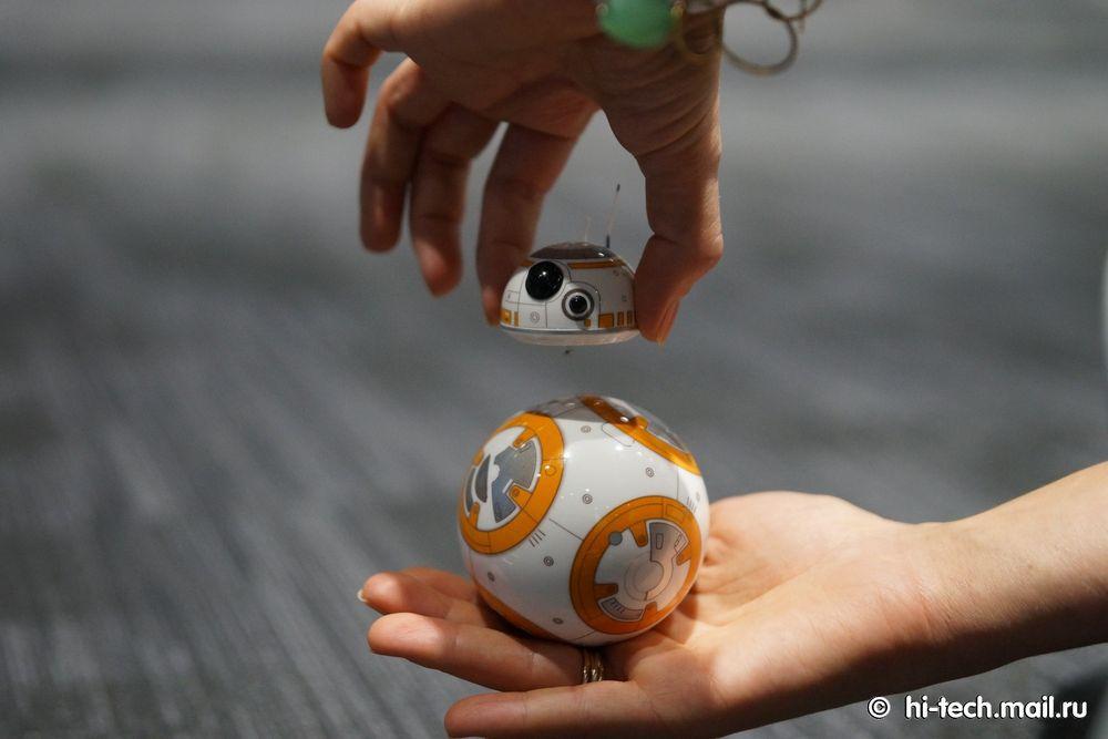 Обзор Sphero BB-8, робота из «Звёздных войн» - 7