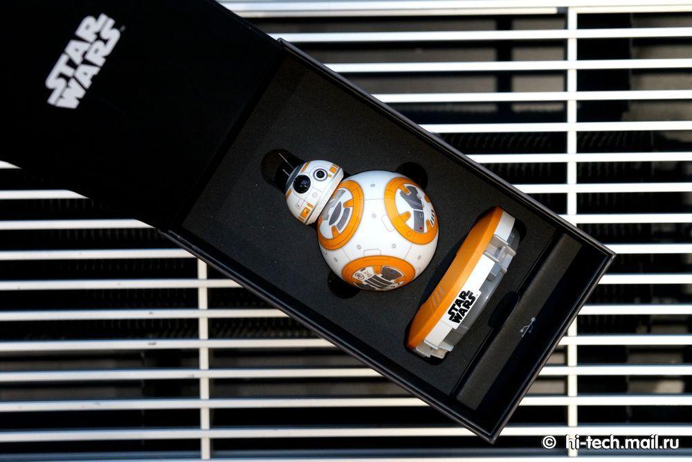 Обзор Sphero BB-8, робота из «Звёздных войн» - 8