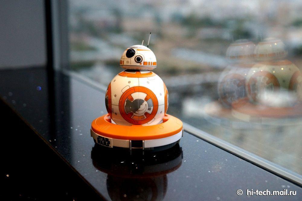 Обзор Sphero BB-8, робота из «Звёздных войн» - 9