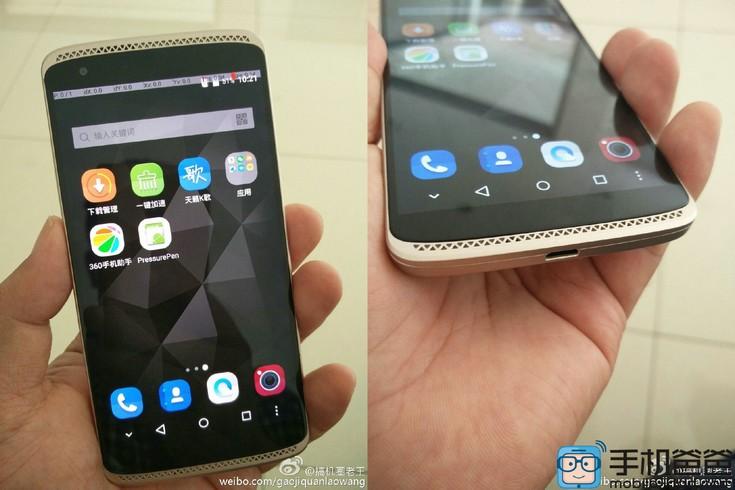 Смартфон ZTE Axon mini предстал на живых фото