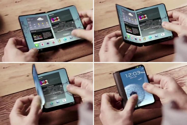 Гибкий смартфон Samsung Project Valley может быть готов через несколько месяцев