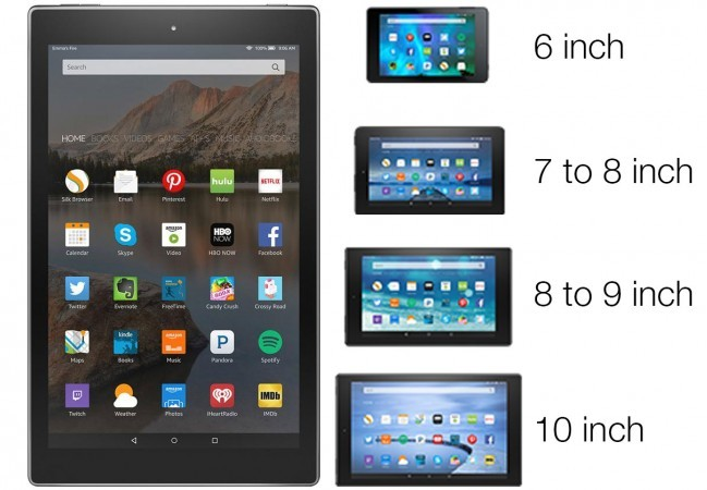 Ассортимент Amazon скоро пополнится четырьмя планшетами