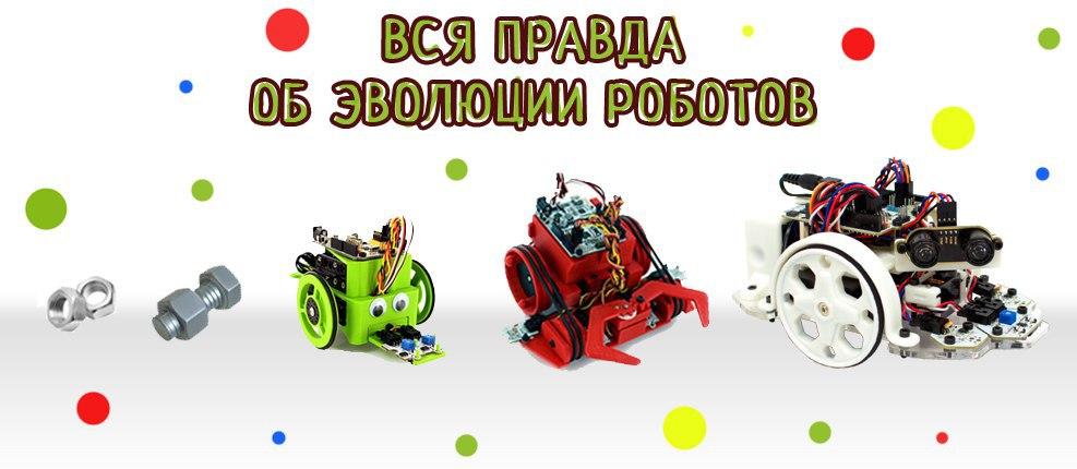 DIY Робот или эволюция в комплекте - 1