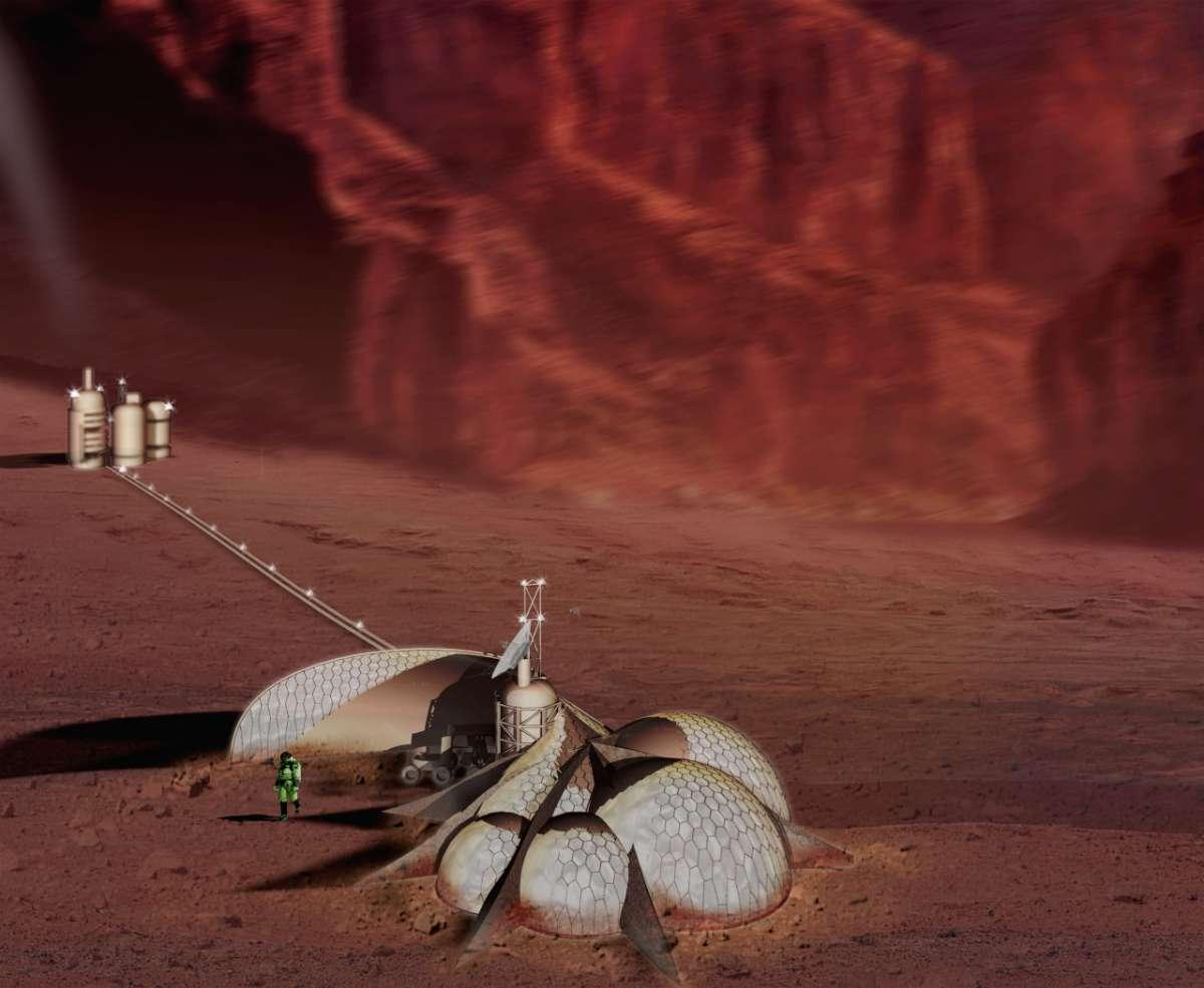 Каким должен быть дом колониста на Марсе? - 5