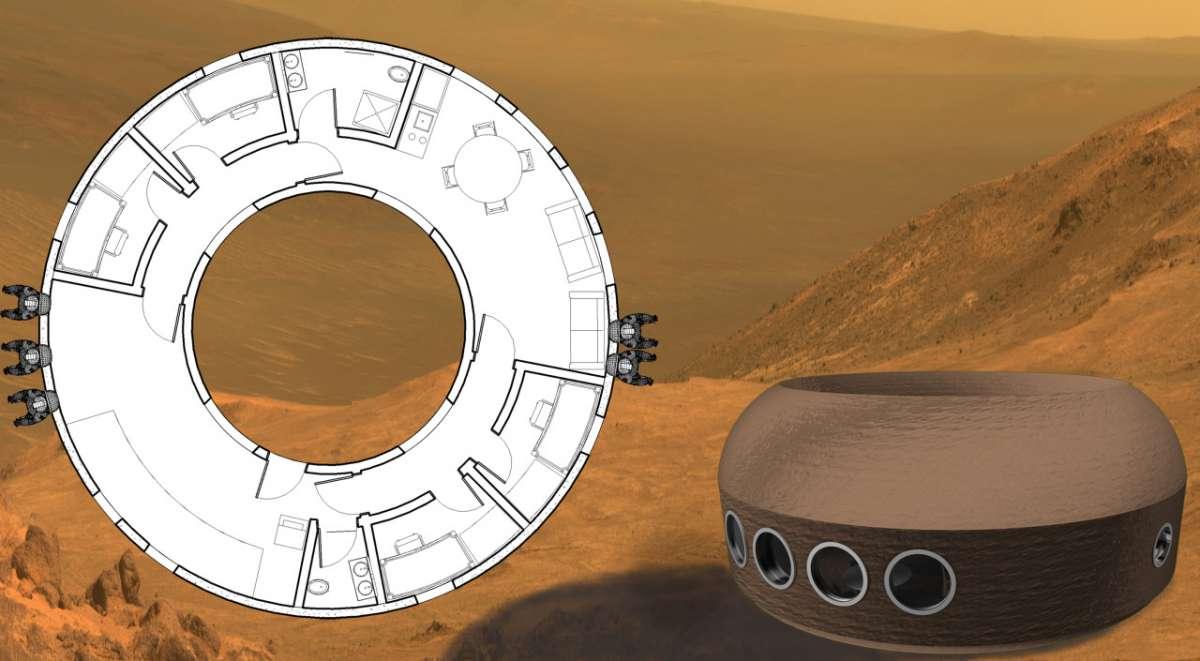 Каким должен быть дом колониста на Марсе? - 6