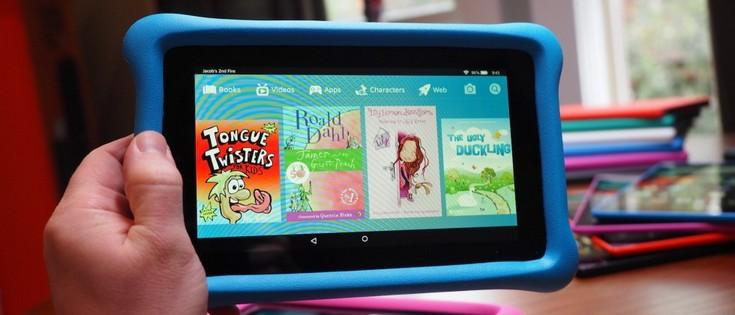 Amazon представила планшеты Fire и Fire Kids Edition