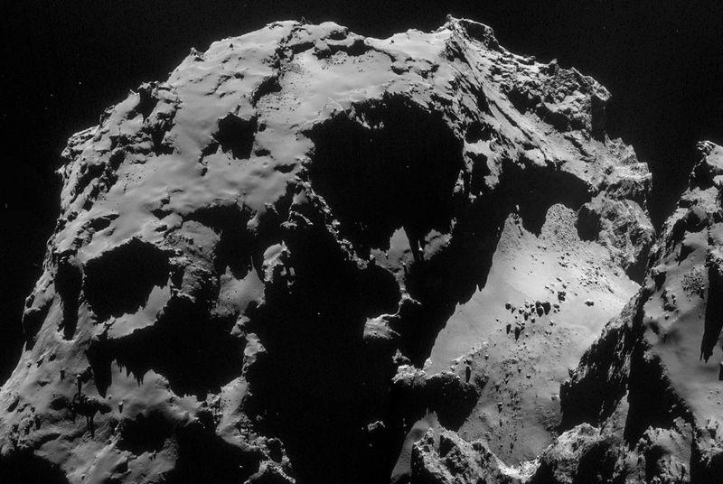 Видео посадки зонда Philae на комету Чурюмова-Герасименко от ESA - 1