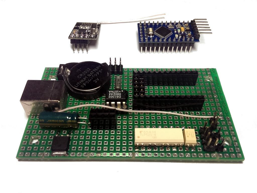 Беспроводной контроллер бытового кондиционера в OpenHAB по Modbus через RF24Network - 3