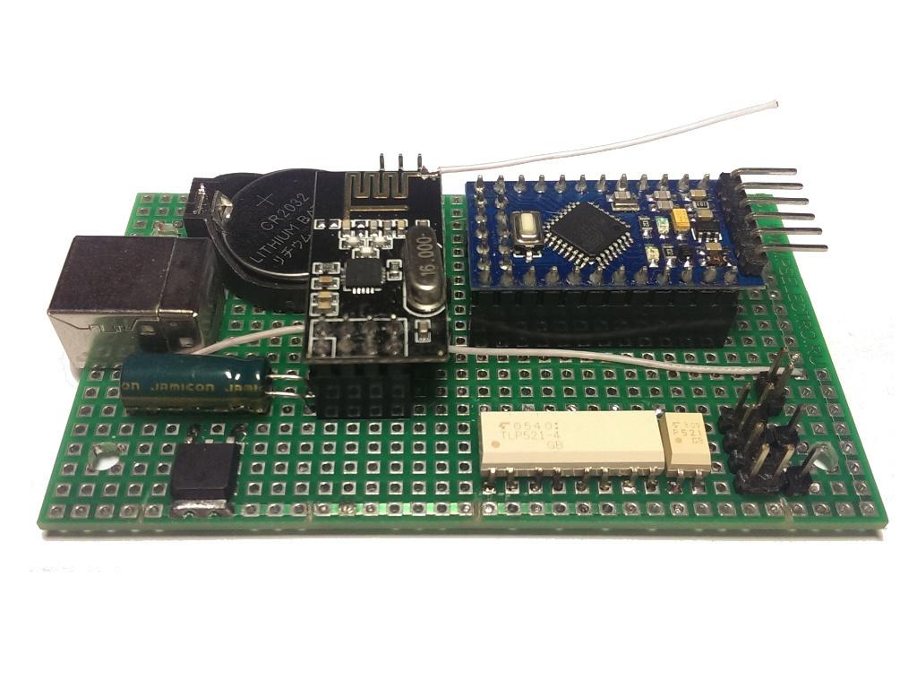 Беспроводной контроллер бытового кондиционера в OpenHAB по Modbus через RF24Network - 5