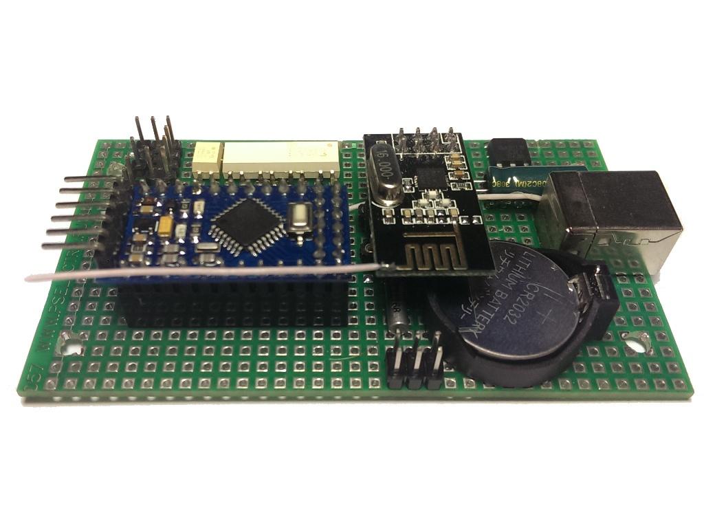 Беспроводной контроллер бытового кондиционера в OpenHAB по Modbus через RF24Network - 6