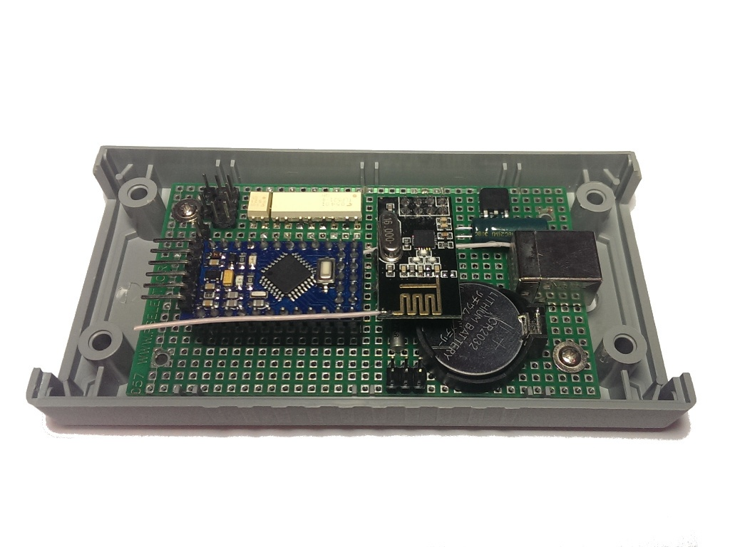 Беспроводной контроллер бытового кондиционера в OpenHAB по Modbus через RF24Network - 7
