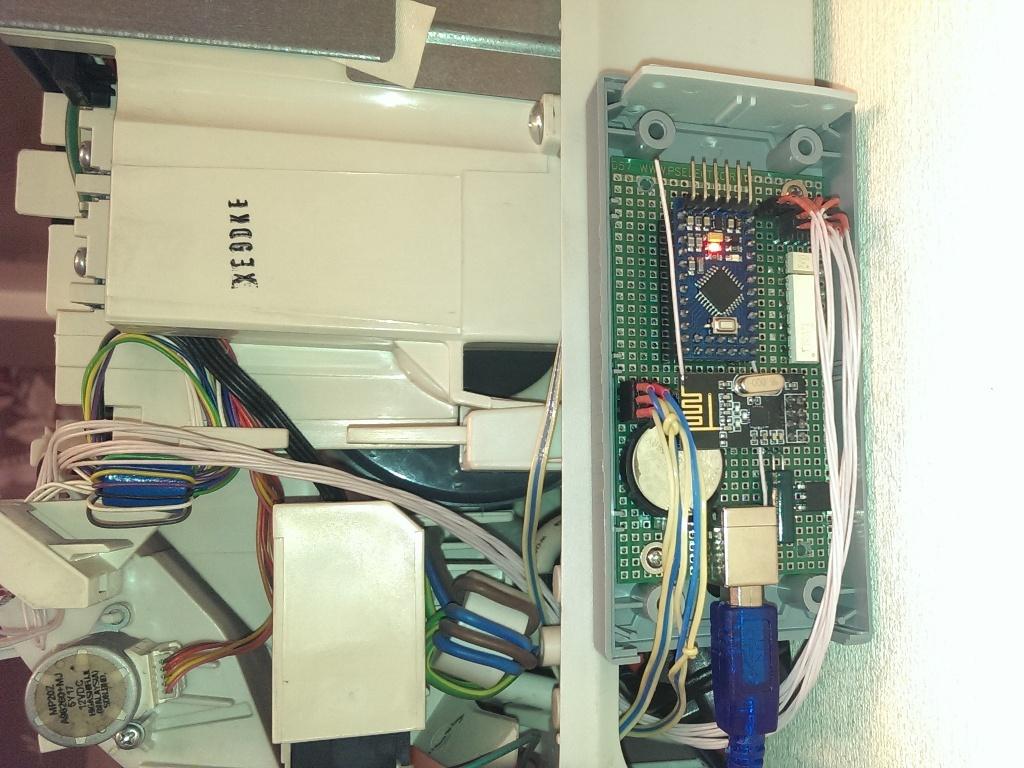 Беспроводной контроллер бытового кондиционера в OpenHAB по Modbus через RF24Network - 8