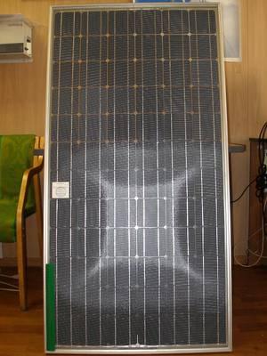 Двусторонний солнечный модуль компании Солнечный ветер