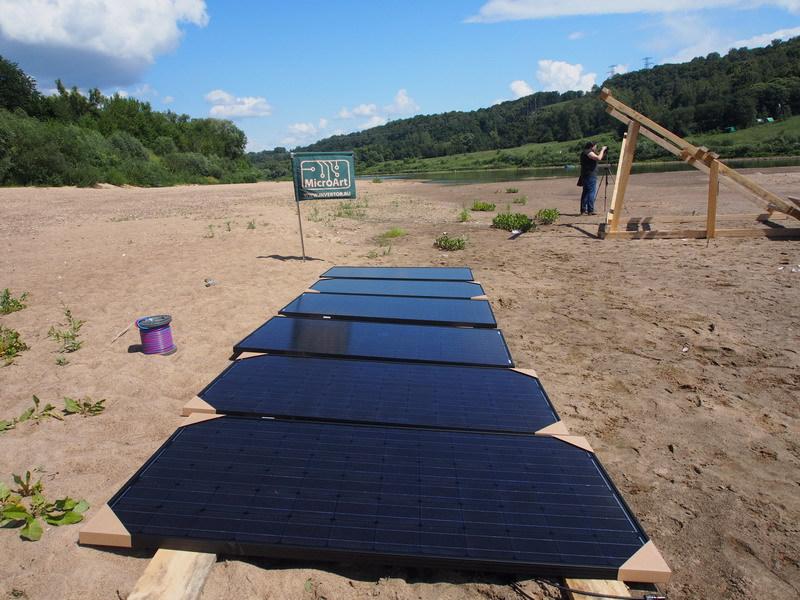 Солнечная энергия на плоту, или Как я провел лето - 2