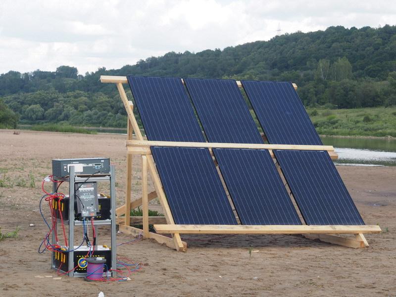 Солнечная энергия на плоту, или Как я провел лето - 4