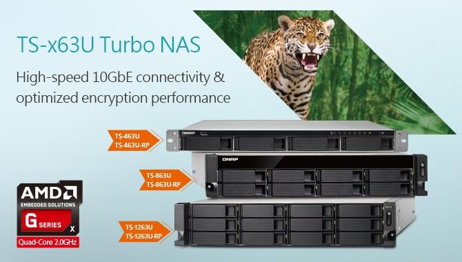 Хранилища QNAP TS-x63U уже доступны для заказа
