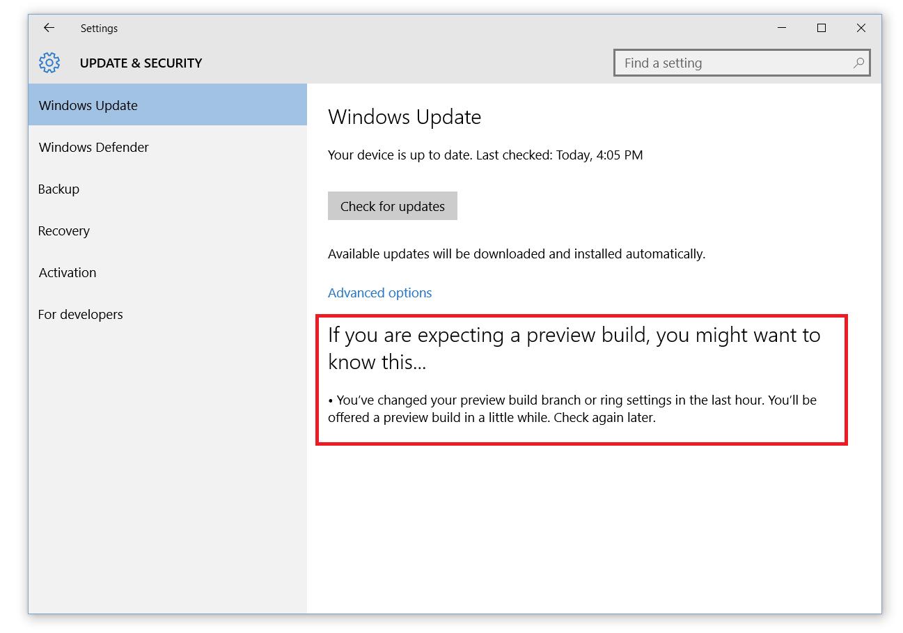 Windows 10 build 10547 доступен инсайдерам на ПК - 4