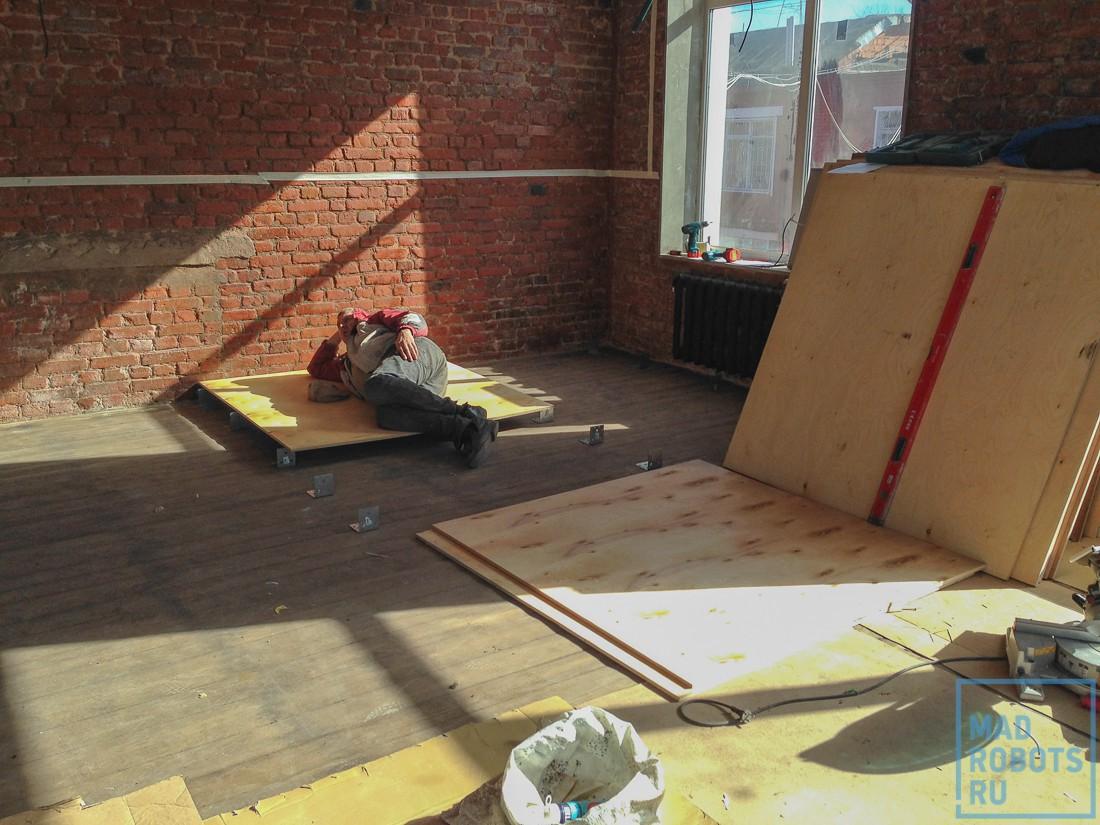 Хроники ремонта: как мы делали новый умный офис Madrobots. Часть первая, ремонтная - 48