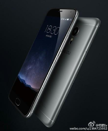 На новом изображении смартфона Meizu MX5 Pro виден металлический корпус и экран ОС Flyme 5.0